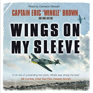 Wings on My Sleeve military aviation audiobook.